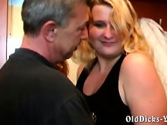 dilettante grandpapa with hawt golden-haired bbw