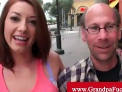 gia love picked up by old fellow