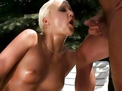 granddad and sexy girl pissing and fucking