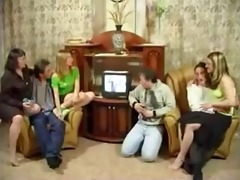russian family having an orgy