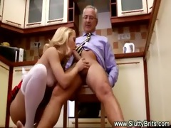 candid young honey spoils senior