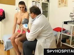 old gyno doctor sets up a hidden livecam