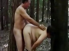 mother 57 fucking with stranger in forest