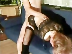 horny step elderly fucking his step-daughter on