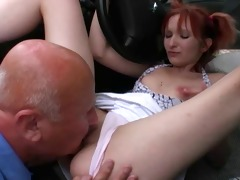 charming picked up and gazoo fucked outdoor by a