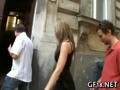 his girlfriend getting drilled hard