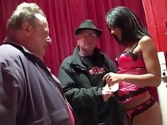 old dude try to fuck a juvenile brunette