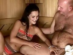 sandra rodriguez gets fucked by grandpa