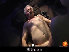 happy sex-alloween night for grandpapa
