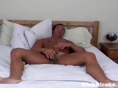 built straight chap rock masturbating