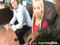 young daughter gets pounded by big dark knob 22