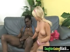 watching my daughter doing a monster black dick 22