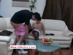 muslim hijab bitch fucked by her brother in law-