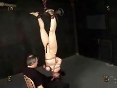 hanging blow