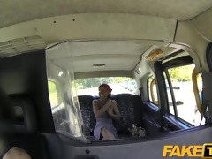 faketaxi ramrod loving passenger sucks off taxi