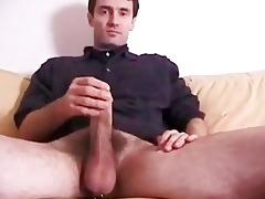 sucking a large french daddy amateur
