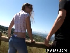 legal age teenager hottie loves fucking