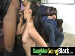 college slut daughter banged by a black cock 5