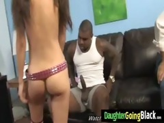 watching my daughter nailed by black monster dick