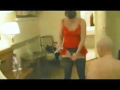 chick screwed old stud in the ass