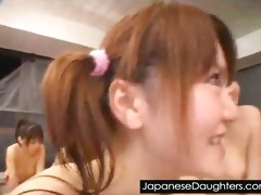daddy loves to violate youthful japanese daughter
