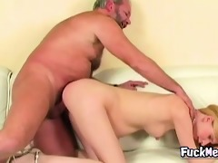 grandpa fucks good blonde