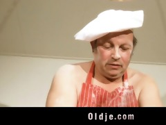punchy oldman fucks with hawt young blond in the