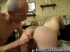 old papy fucking young tattooed wife part6