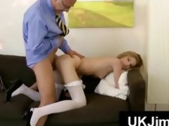 slender miniature tits blonde fucked doggystyle