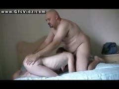 old man fucks a young redhead