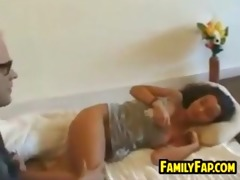 teen daughter in law gets drilled