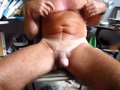 grandpapa handles his 75 year old circumcised wang