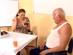 preggo - grandpapa mireck and pregnant wench