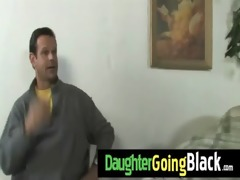 see my daughter taking a hard darksome dong 30