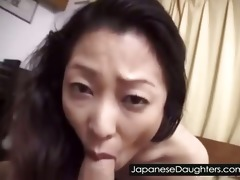 youthful japanese daughter fucked hard by daddy