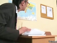claire fucks with geography teacher.