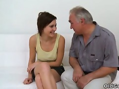 old boy needs to play with a cute young vagina