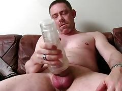 hot straight daddy tucker masturbating
