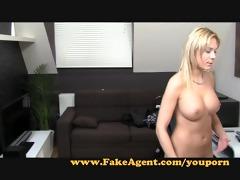 fakeagent blondie wants to be porn star