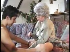 catching grandson jacking off and helps him out