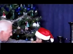christmas - grandpa and grand daughter part2