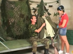 legal age teenager fucked by old military man