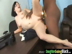 watching my young hot daughter banged by black
